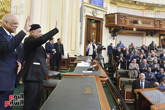 رئيس البرلمان اليبيى و المصرى