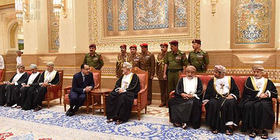 السلطان هيثم بن طارق يقدم الشكر للشعب المصرى والرئيس السيسى