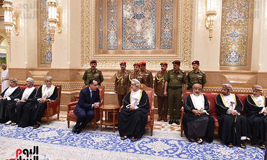 رئيس الوزراء والسلطان هيثم بن طارق بن تيمور