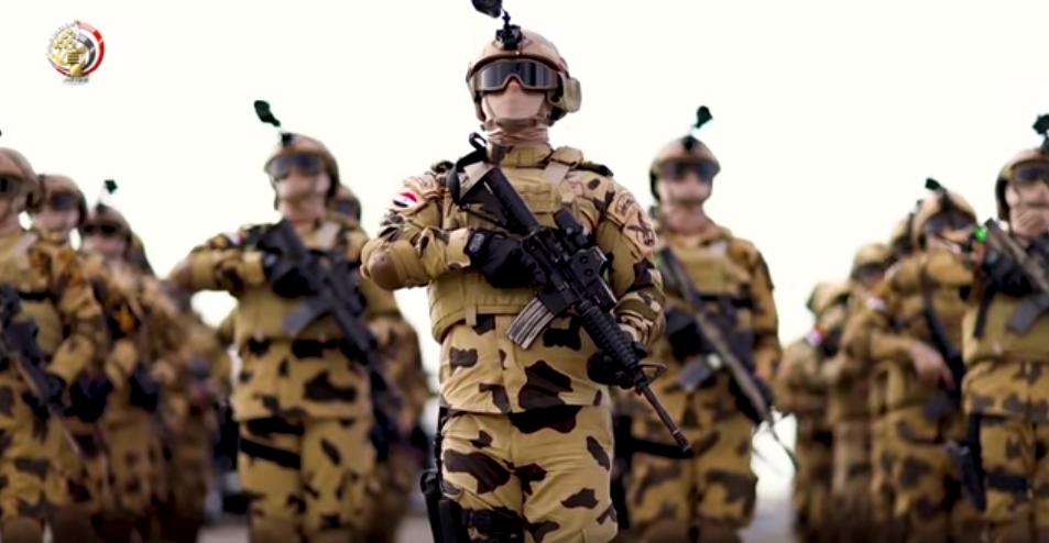 أبطال الجيش المصرى