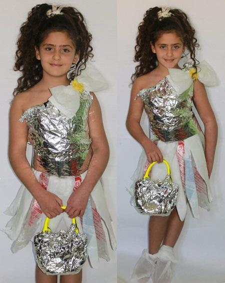 فستان من الفويل