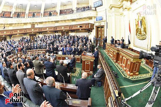 الجلسه العامه بالبرلمان