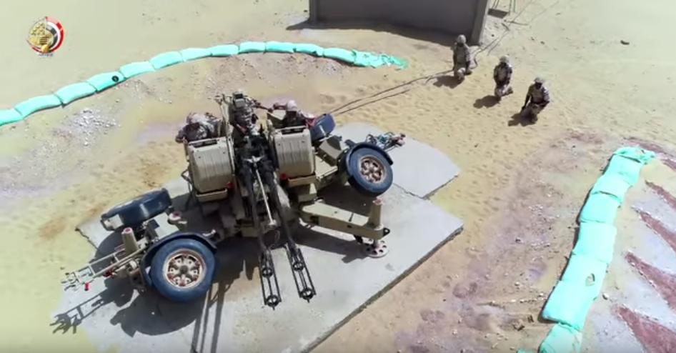 أسلحة متنوعة للجيش المصرى