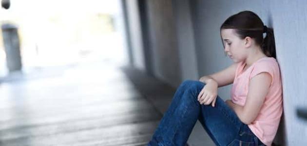 اسباب الاكتئاب عند الاطفال
