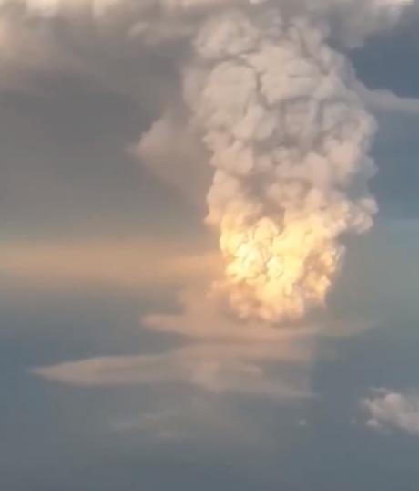 زيادة انفجار بركان الفلبين