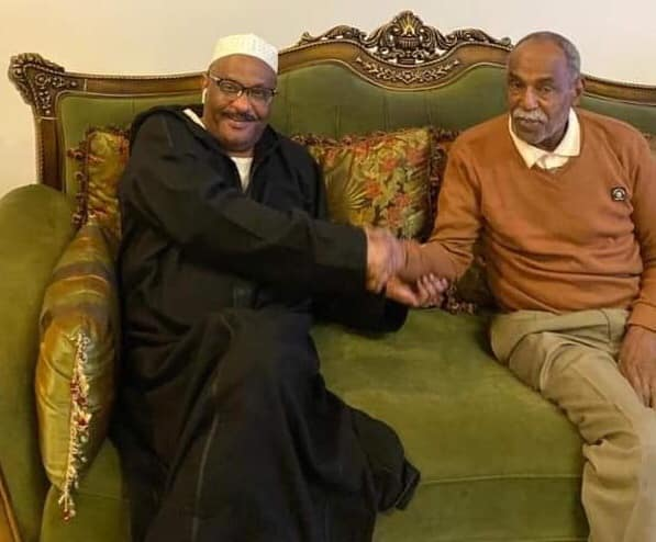 الفاتح النقر مع رئيس الهلال السودانى