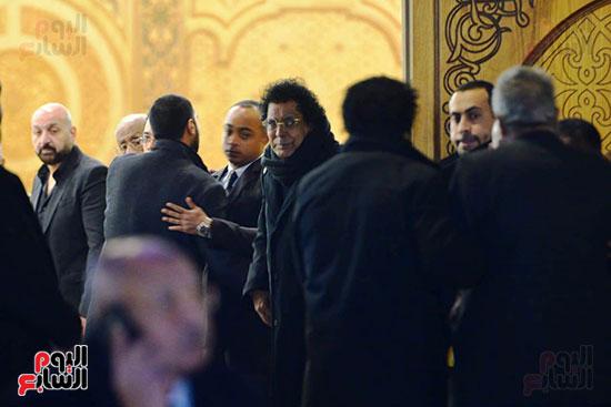 عزاء زوج شقيقة محمد منير (27)