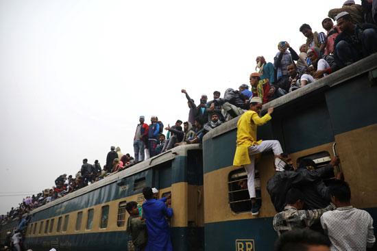 تسلق القطارات