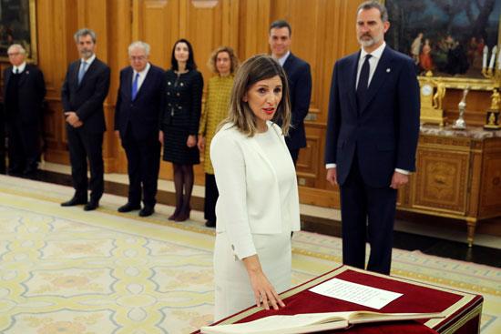 وزيرة-العمل-الإسبانية-يولاندا-دياز