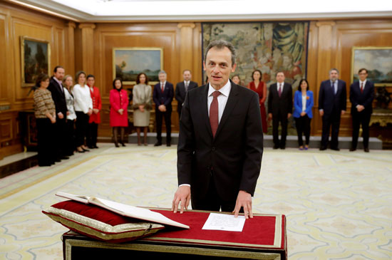وزير-العلوم-الإسبانى-بيدرو-دوكى