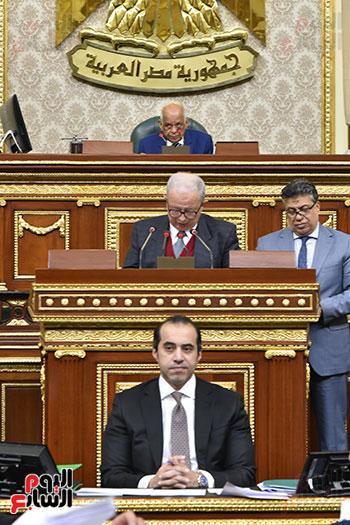 كلمة حسين عيسى بالجلسة العامة للبرلمان