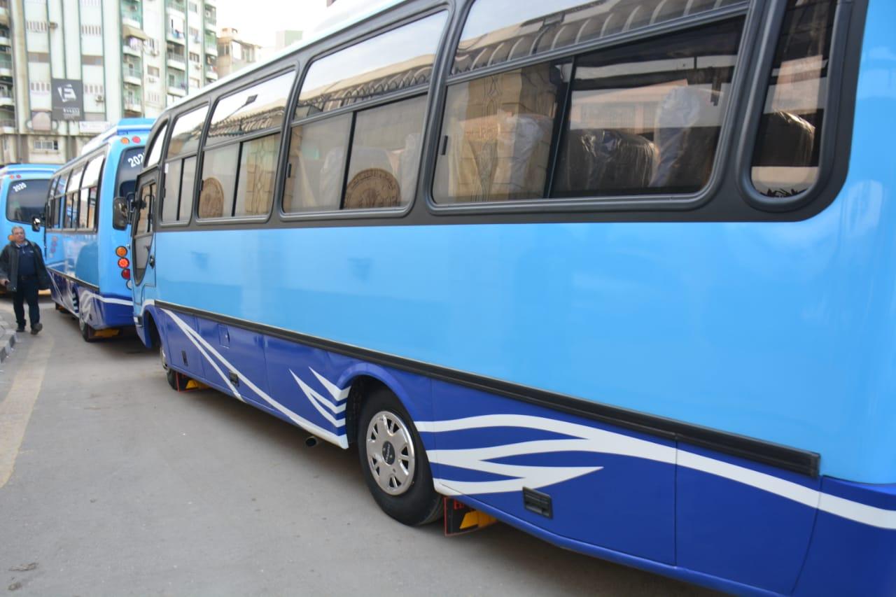 أتوبيسات نقل مميز جديدة ومكيفة لتشغيلها فى مدينة المنصورة (4)