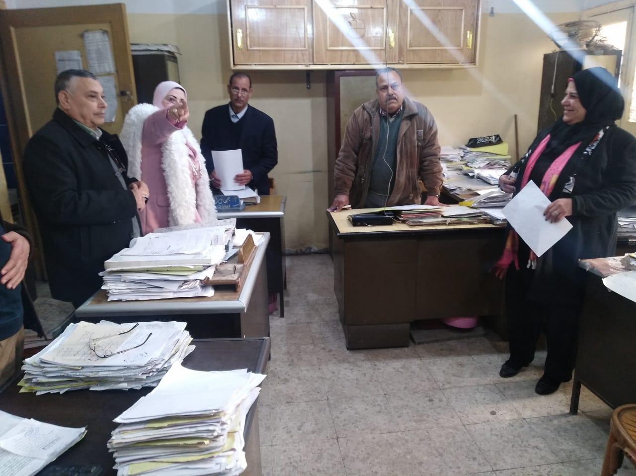 كيل تعليم كفر الشيخ  تتابع امتحانات التابلت (10)