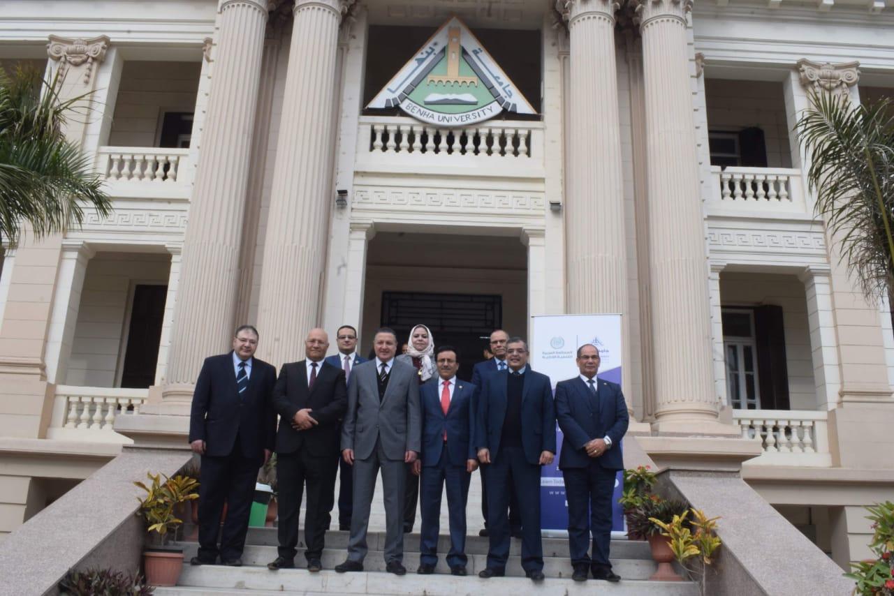 تعاون بين جامعة بنها والمنظمة العربية للتنمية الإدارية (2)