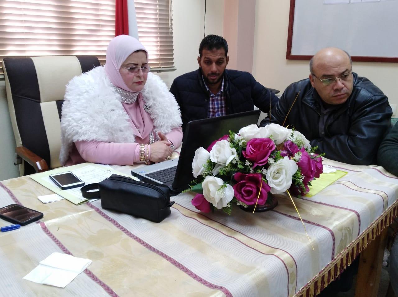 كيل تعليم كفر الشيخ  تتابع امتحانات التابلت (9)