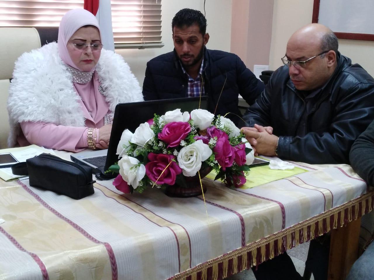 كيل تعليم كفر الشيخ  تتابع امتحانات التابلت (4)