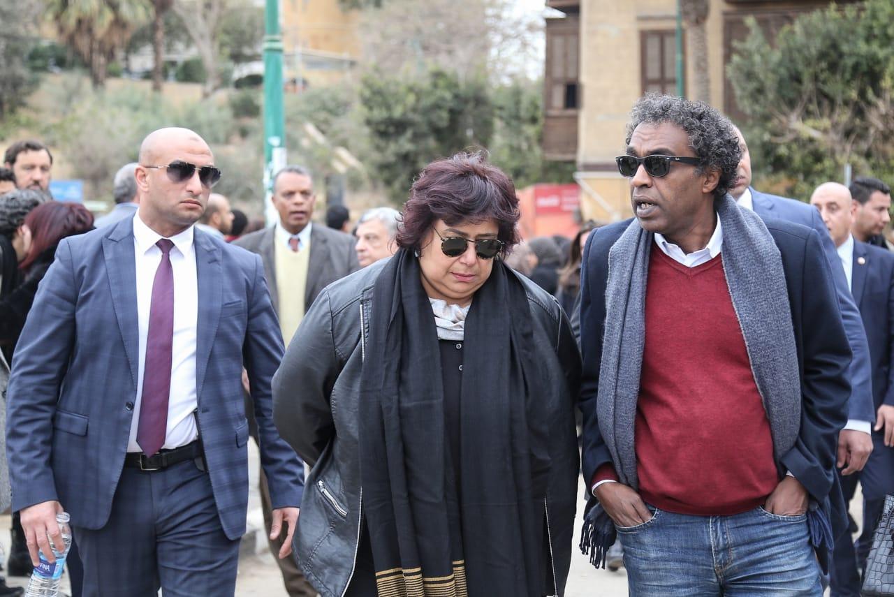 جنازة نجل رئيسة المجلس القومى للمرأة (3)