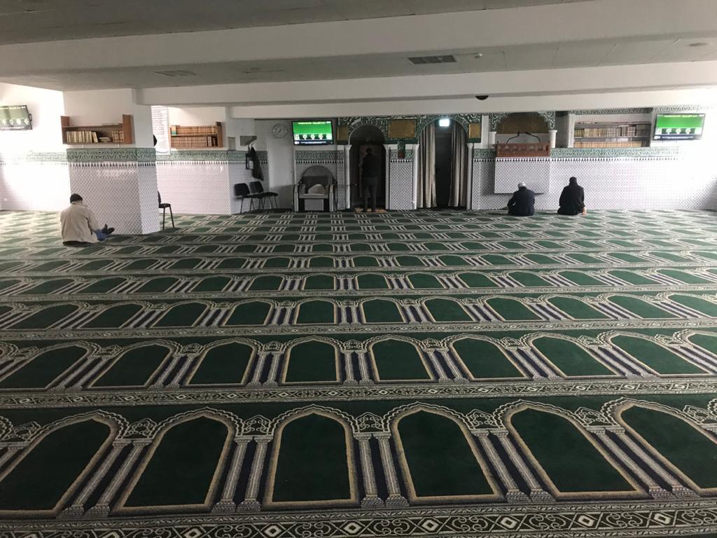جانب من المسجد والمركز الإسلامي