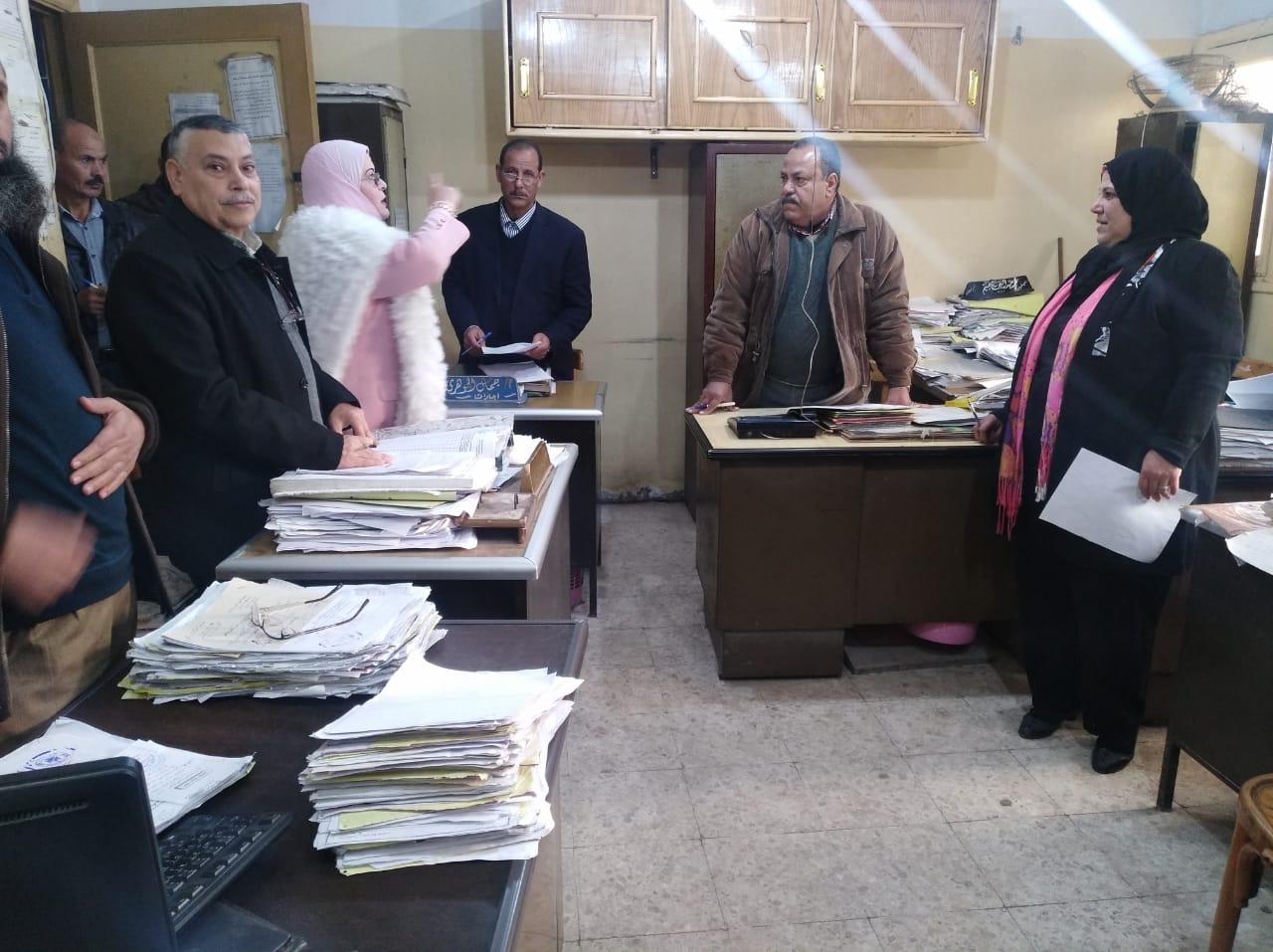 كيل تعليم كفر الشيخ  تتابع امتحانات التابلت (6)