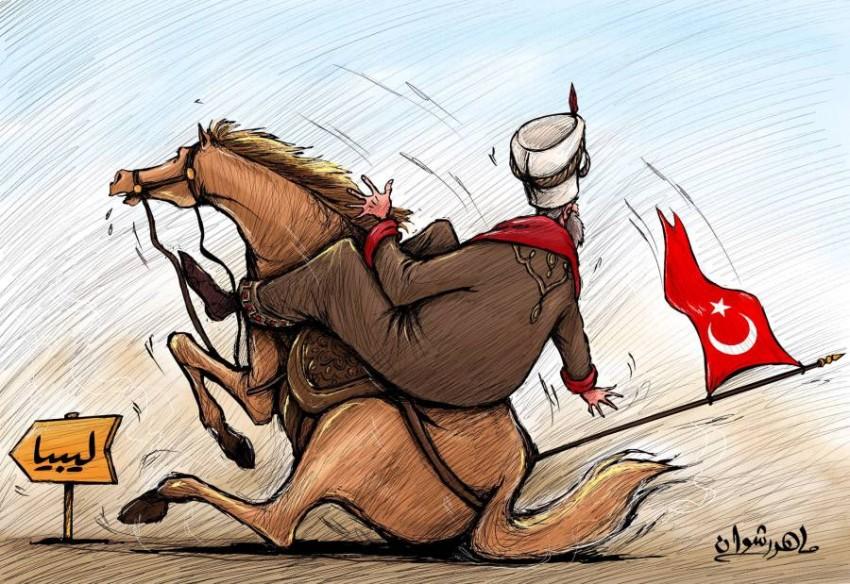 تركيا تسقط فى رمال ليبيا