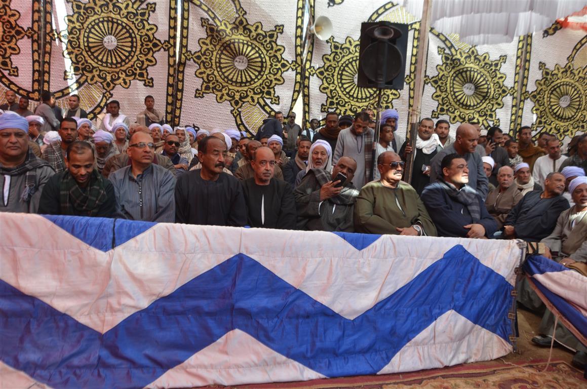 7 جانب من حضور فعاليات القودة بمدينة اسنا