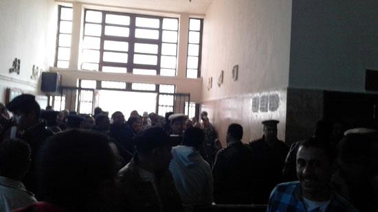بدء-أولى-جلسات-إستئناف-المتهمين-بقتل-محمود-البنا-شهيد-الشهامة-بمحكمة-شبين-الكوم