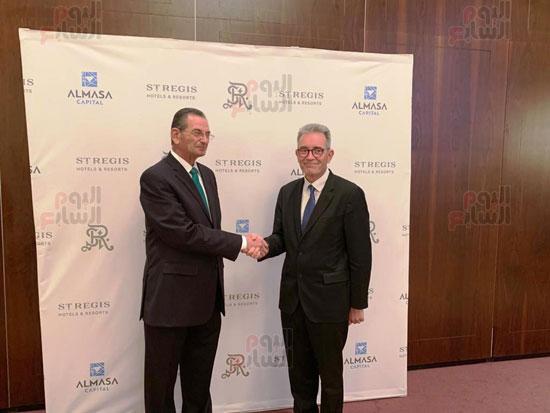 توقيع عقد إدارة ماريوت العالمية لفندق الماسة بالعاصمة الإدارية (4)