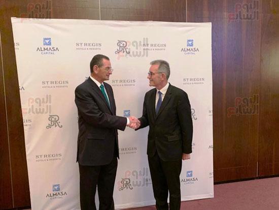 توقيع عقد إدارة ماريوت العالمية لفندق الماسة بالعاصمة الإدارية (13)