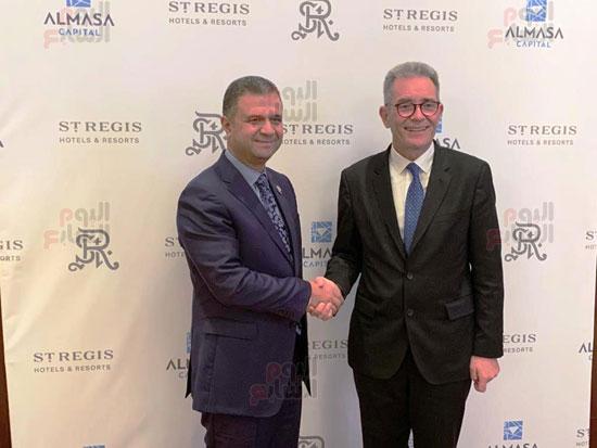 توقيع عقد إدارة ماريوت العالمية لفندق الماسة بالعاصمة الإدارية (12)