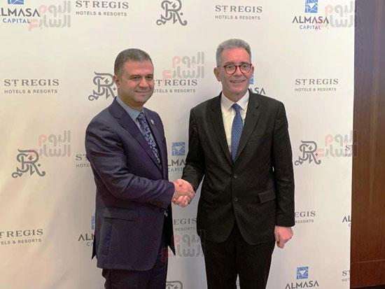 توقيع عقد إدارة ماريوت العالمية لفندق الماسة بالعاصمة الإدارية (1)