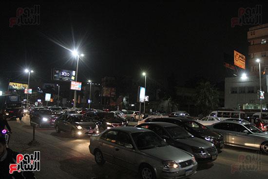 زحام مرورى فى محيط شارع البطل أحمد عبد العزيز (14)