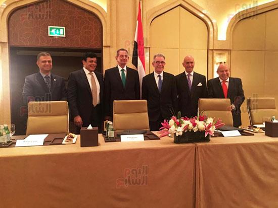 توقيع عقد إدارة ماريوت العالمية لفندق الماسة بالعاصمة الإدارية (23)