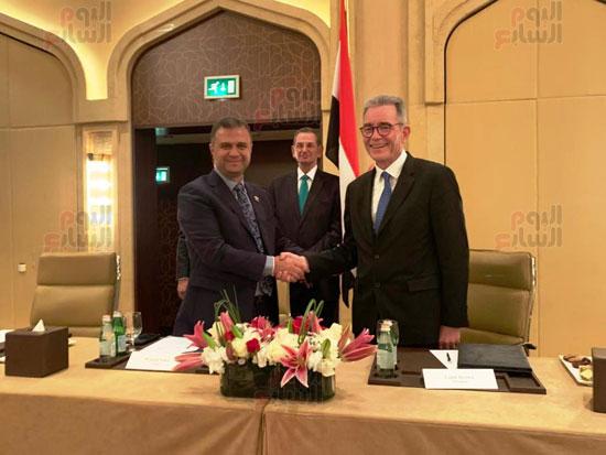 توقيع عقد إدارة ماريوت العالمية لفندق الماسة بالعاصمة الإدارية (26)