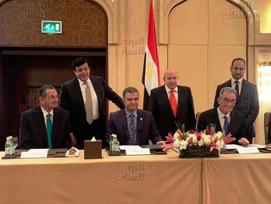 توقيع عقد إدارة ماريوت العالمية لفندق الماسة بالعاصمة الإدارية (11)