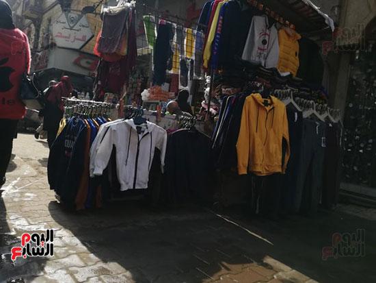 انتشار الباعة الجائلين بشوراع محافظة الجيزة  (21)
