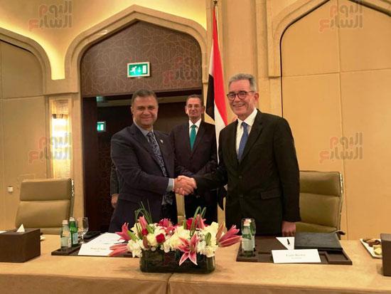 توقيع عقد إدارة ماريوت العالمية لفندق الماسة بالعاصمة الإدارية (7)