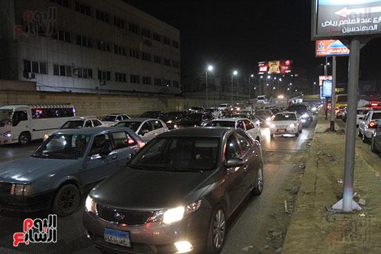 زحام مرورى فى محيط شارع البطل أحمد عبد العزيز (8)