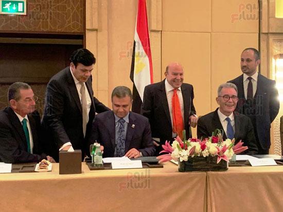 توقيع عقد إدارة ماريوت العالمية لفندق الماسة بالعاصمة الإدارية (8)
