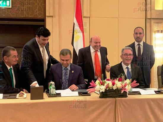 توقيع عقد إدارة ماريوت العالمية لفندق الماسة بالعاصمة الإدارية (32)