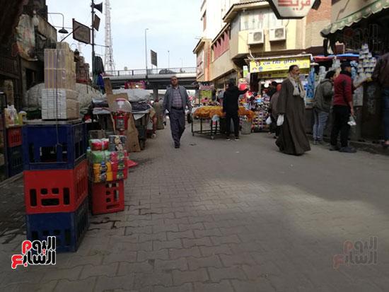 انتشار الباعة الجائلين بشوراع محافظة الجيزة  (3)