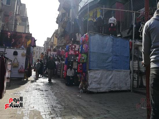 انتشار الباعة الجائلين بشوراع محافظة الجيزة  (18)