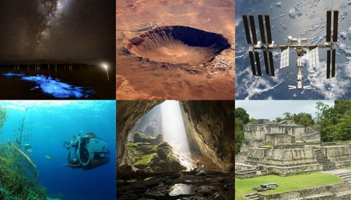 قائمة جديدة لعجائب الدنيا السبع