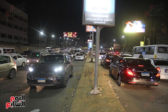 زحام مرورى فى محيط شارع البطل أحمد عبد العزيز (11)