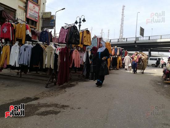 انتشار الباعة الجائلين بشوراع محافظة الجيزة  (6)