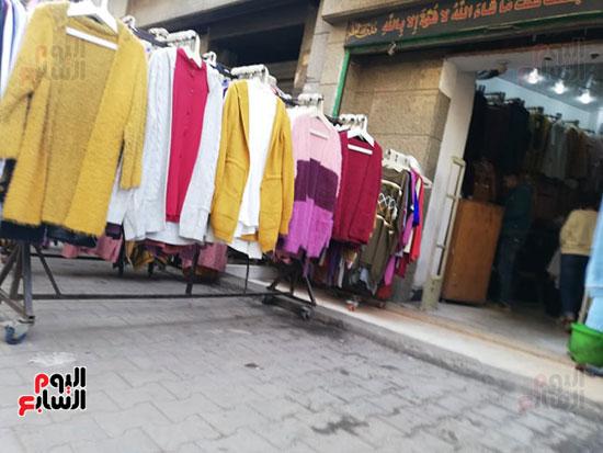 انتشار الباعة الجائلين بشوراع محافظة الجيزة  (4)