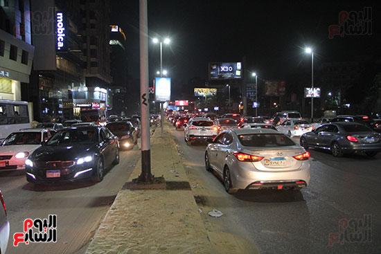 زحام مرورى فى محيط شارع البطل أحمد عبد العزيز (6)