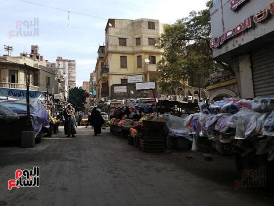 انتشار الباعة الجائلين بشوراع محافظة الجيزة  (17)