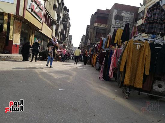انتشار الباعة الجائلين بشوراع محافظة الجيزة  (13)