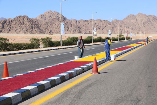 الهجانة يستعدون لمشاركة قوية بمهرجان شرم الشيخ التراثى برعاية الإمارات (3)