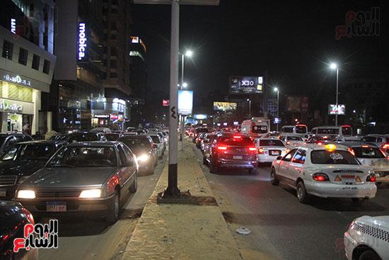 زحام مرورى فى محيط شارع البطل أحمد عبد العزيز (13)